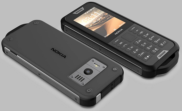 Nokia 800 Tough на KaiOS
